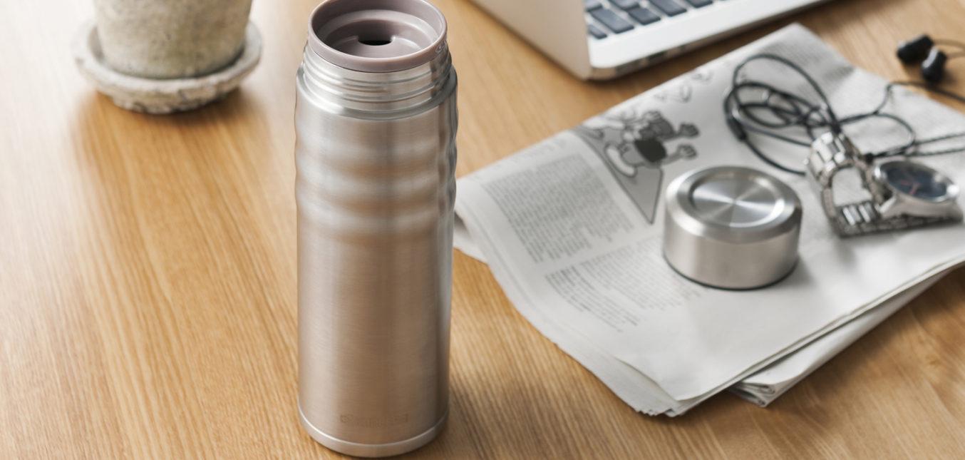 Just arrived: Die praktischen Isolierflaschen mit keramischer Innenbeschichtung von Kyocera