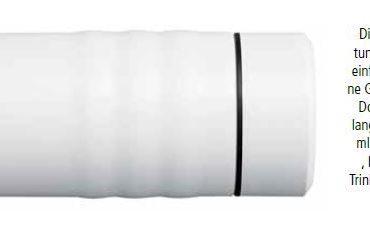 Besonders lange kühl und frisch - die Kyocera Isolierflaschen halten Getränke heiß und kalt!