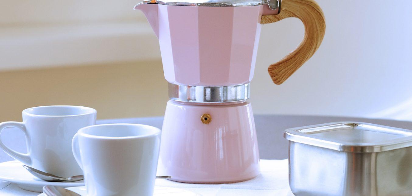 gnali & zani: neue Farben für die Venezia Espressokocher