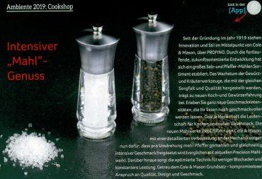 Cole & Mason - Exfort Salz- und Pfeffermühlen