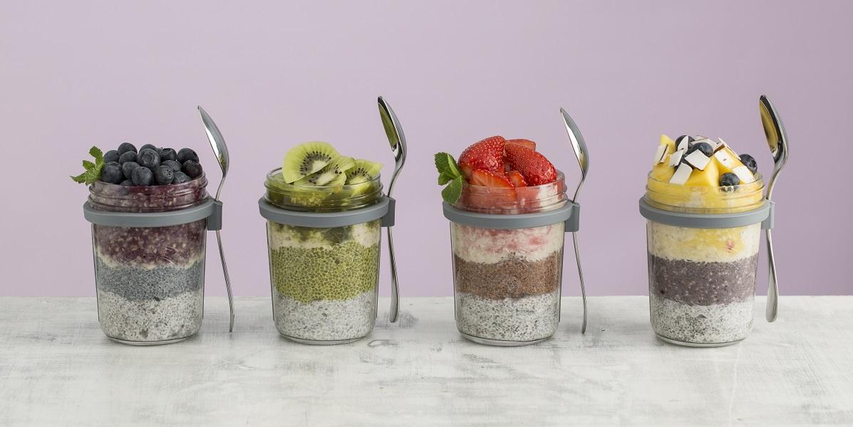 KILNER - Qualitätsprodukte aus Glas - das To Go Frühstücksglas