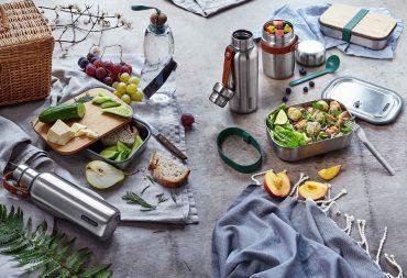 black+blum - To Go Edelstahlserie - stylische Lunchboxen und Thermoflaschen