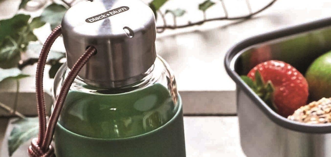 black+blum - neue Wasserflaschen aus Glas
