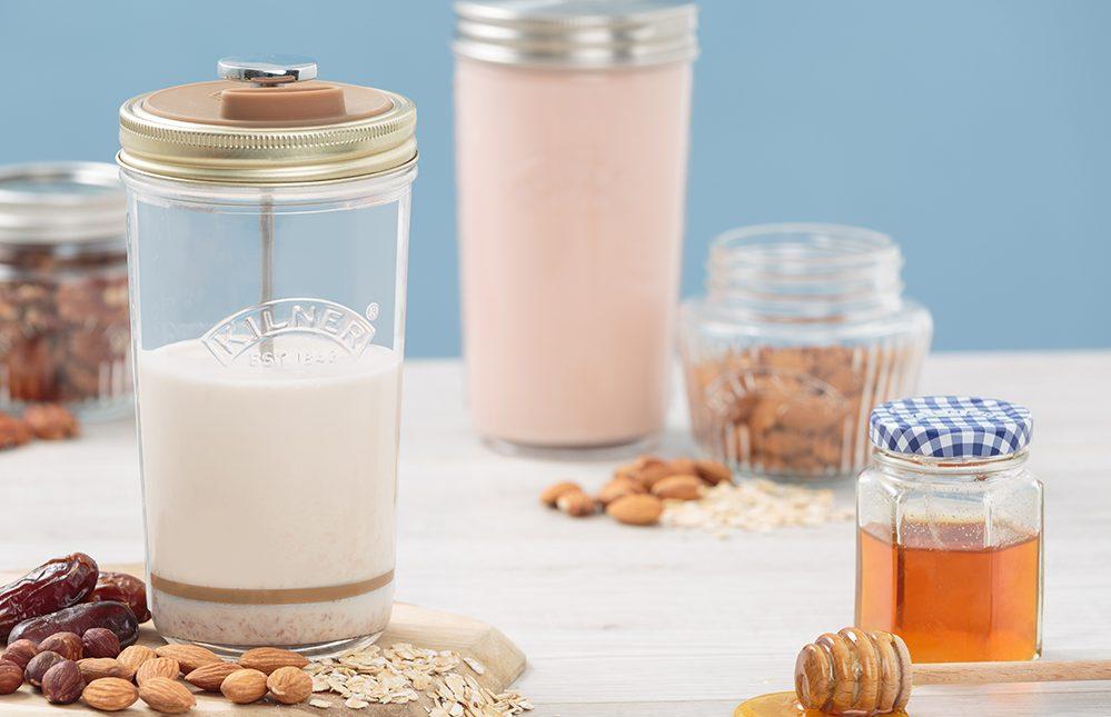 KILNER Nussmilch Herstellungsset