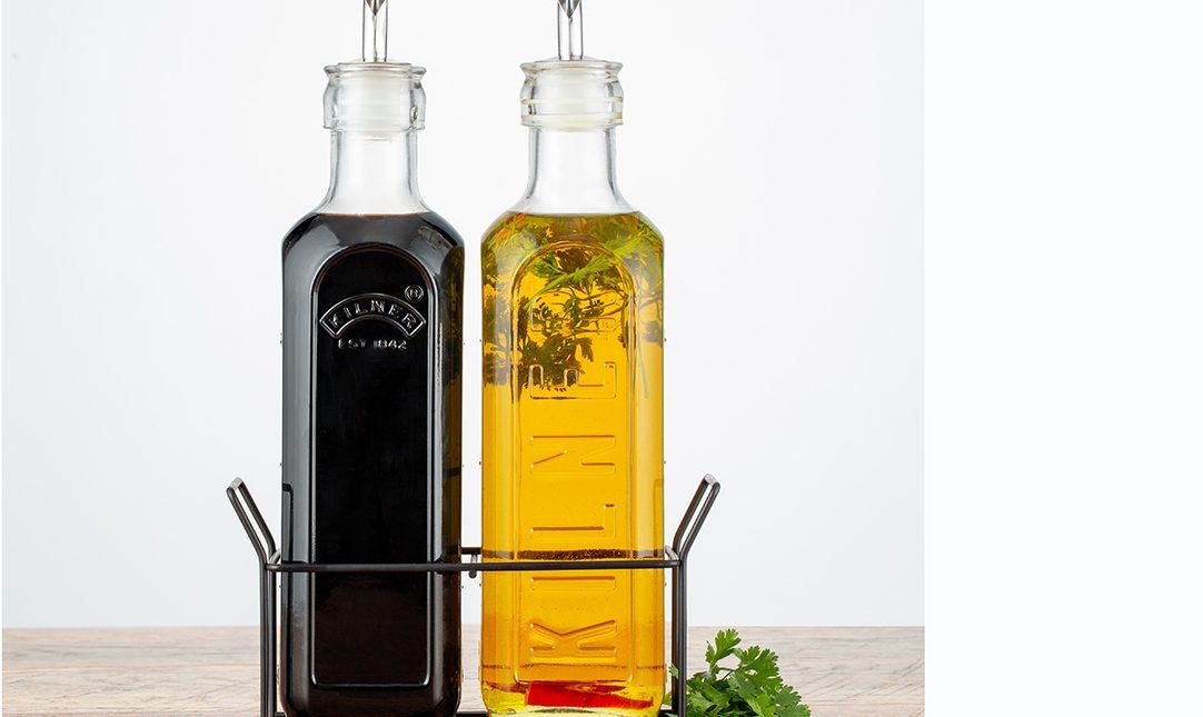 KILNER - Öl- und Essigflasche im Set