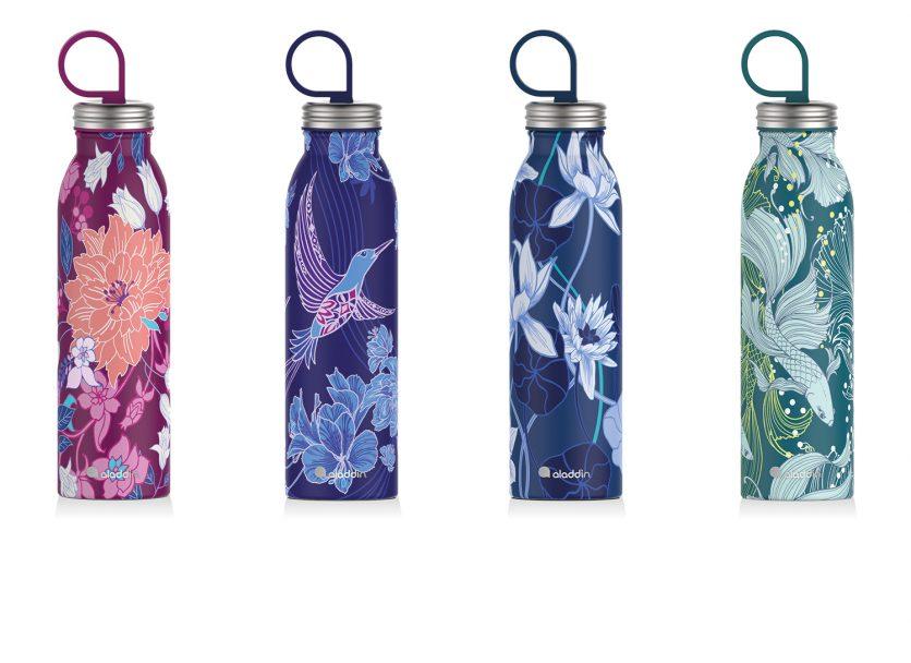 aladdin Chilled Flaschen mit Naito Design