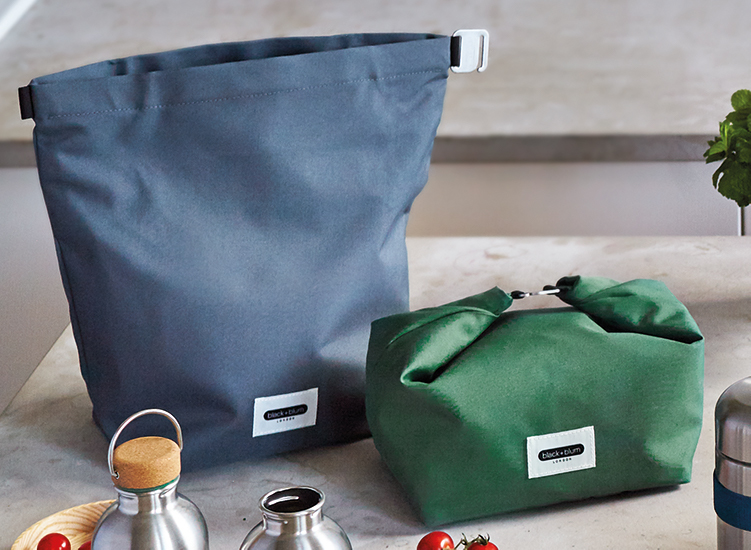 black+blum - Lunchbag aus recyceltem PET