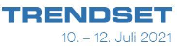 MEET US auf der TRENDSET in München vom 10. - 12. Juli 2021